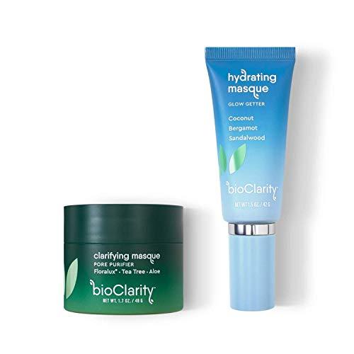 bioClarity Face Masks Bundle | 100% Vegan, Clarifying & Hydrating Masks Included