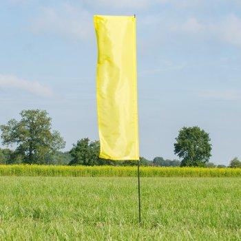CIM Fahnen - Hawaii Fahne Yellow - UV-beständig und wetterfest - Abmessung: 140x44cm (Yellow)