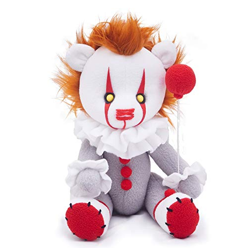 UEESTORE Pennywise The Dancing Clown Bear Plush Doll Toys, Christmas Party Supplies of IT Clown Decoration Costume for Kids and Adults
