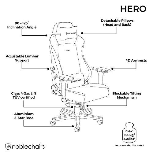 noblechairs Hero Gamingstuhl – Bild 6*