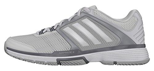 adidas adidas Damen Barricade Club W Tennisschuhe, weiß (Ftwbla/Ftwbla/Onicla), 40 2/3 EU