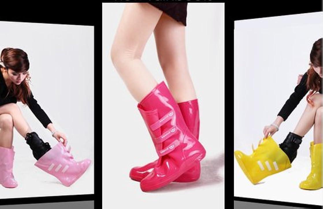 修理工有名人メロドラマティック雨の日も楽しくなるホースデザインレインシューズ (yoshihiroshi-shoes_yh306)