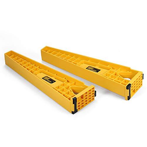 Baugger Plantilla de instalación de cajones - 2 piezas Jueg