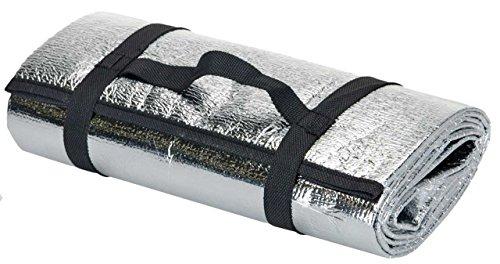 SIDCO Isomatte Alu Campingmatte faltbar Zeltmatte Thermomatte Bodenmatte Schlafmatte