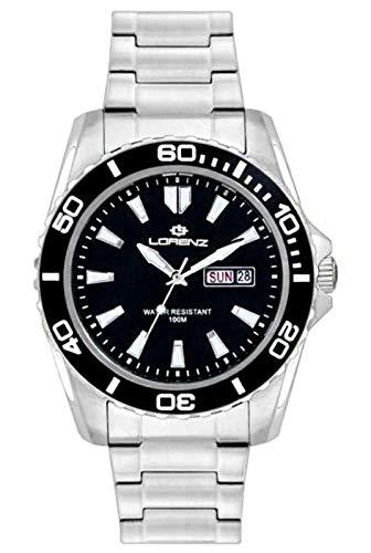 Lorenz - Reloj de hombre 26116AA 100 metros