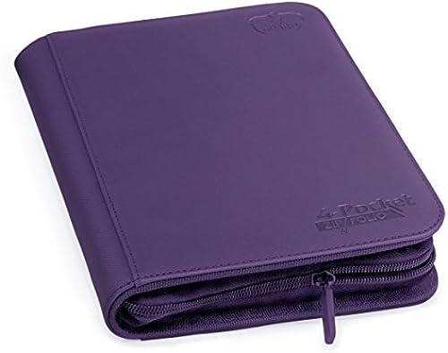 tienda hace compras y ventas Ultimate Guard 4-Pocket XenoSkin ZipFolio (púrpura) by Ultimate Ultimate Ultimate Guard  ahorre 60% de descuento
