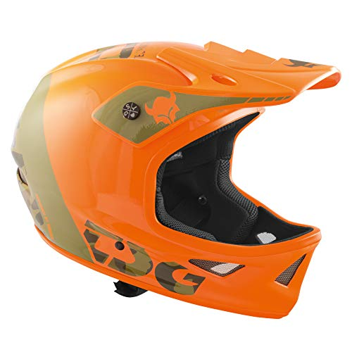Tsg Squad Graphic Design Casco, Unisex, 257005, Trap Acid Orange, XL