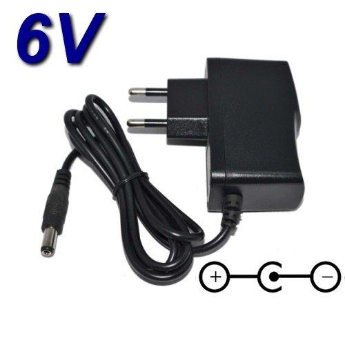 TOP CHARGEUR * Netzteil Netzadapter Ladekabel Ladegerät 6V für Druckender Rechner Casio HR-150RCE