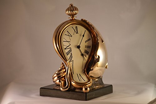 Sculpture Melting Clock Dali Table Clock