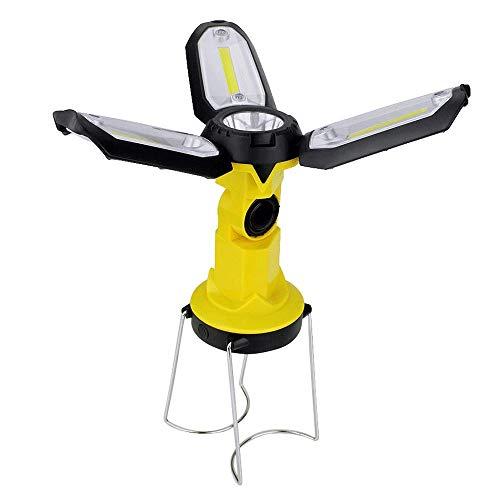 LYYJIAJU Oplaadbare led-campinglantaarn, tent, led-lampen zaklampen van USB voor opladen van telefoon, noodgevallen, hurricane, vissen en nog veel meer