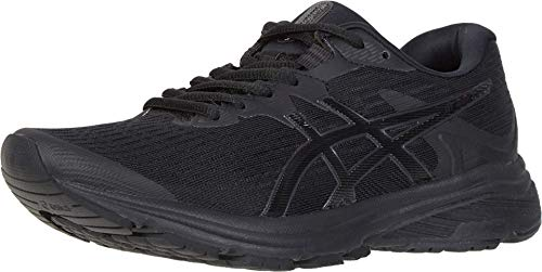 ASICS Women's GT-1000 8 Shoes, 9.5M, Black/Black