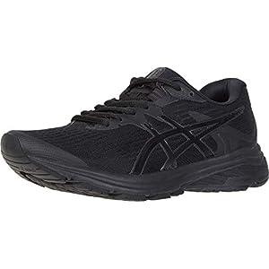 ASICS Women's GT-1000 8 Shoes, 9.5, Black/Black