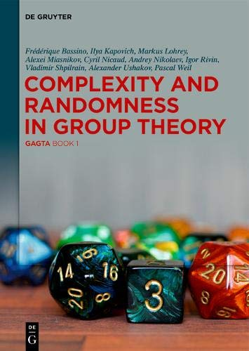 Complexity and Randomness in Group Theory (Gagta)