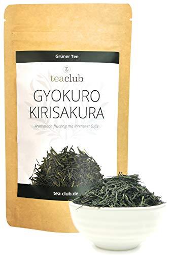 Gyokuro Kirisakura Grüner Tee aus Japan, Aromatisch-Fruchtig mit Intensiver Süße und Umami, Japanischer Grüntee Lose Premium Qualität