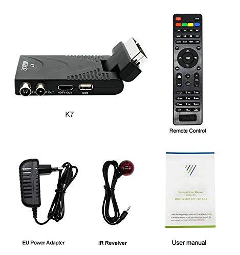 Decoder Digitale Terrestre HD Mini DVB-T2 Hevc H.265 10-bit 1080P ...
