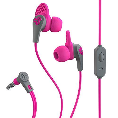 Jlab - Jbuds Pro Premium Metal Earbuds with Mic - Earphones & Headphones (Pink)