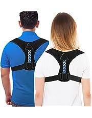 Posture Corrector for Men and Women,LUOWAN Adjustable Back Brace for Support Back, Neck & Shoulder