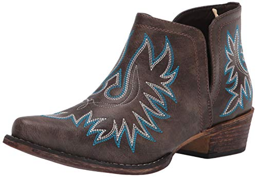 Roper womens Western Boot,Brown,9