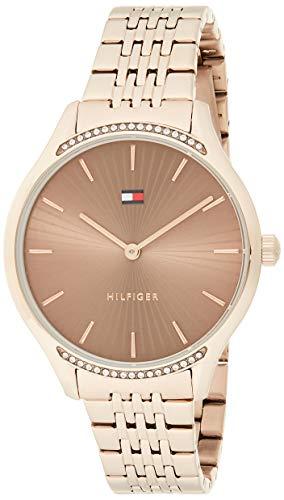 Tommy Hilfiger Reloj Analógico para Mujer de Cuarzo con Correa en Acero Inoxidable 01782212