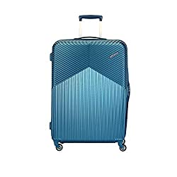 American Tourister Georgia Polycarbonate 79 cms Moonlight Blue Hardsided Check-in Luggage (FS3 (0) 21 003) - 31 inch,SAMSONITE SOUTH ASIA PVT. LTD,FS3 (0) 21 003