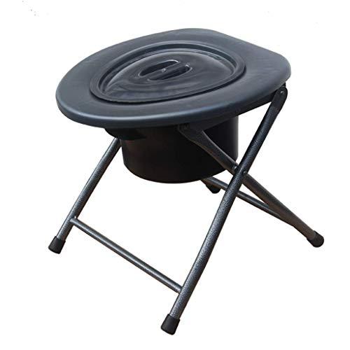Z-SEAT Bariatrischer Toilettensitz Hochleistungs-Nachttischkommoden-Toilettenstuhl für ältere Schwangere Frauen-PU-Sitz ohne Werkzeug Installation Einfache Übertragung
