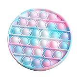 Incorra Fidget Toy Rainbow Sensory Simple Dimple Spinner Dimpel It Fidget Toy Kinderspielzeug Geschenk Niedlich Kleine Fidget Toys für Kinder Mädchen Jungen Freundin