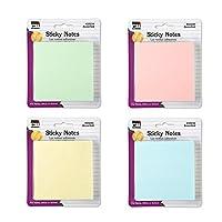 Sticky Notes 1 1/2X2 Plain