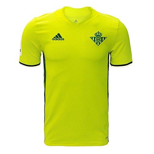 adidas - Real Betis Balompié - 3 JSY Camiseta, Hombre, Amarillo, 2XL