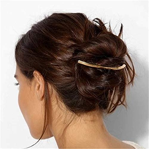 YNHNI Pin de Cheveux Tool à Cheveux en épingle à Cheveux rétro Branche doré épingle à Cheveux épingles en épingle à Cheveux élégant Accessoires pour Cheveux métalliques, Headwear Dames