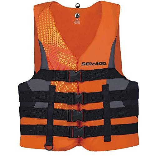 Sea-Doo - Flotador de Nailon para Adultos, Color Naranja
