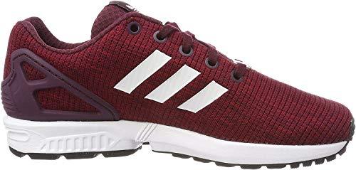 Adidas ZX Flux J, Zapatillas de Deporte Unisex niño, Rojo (Granat/Ftwbla/Ftwbla 000), 36 2/3 EU