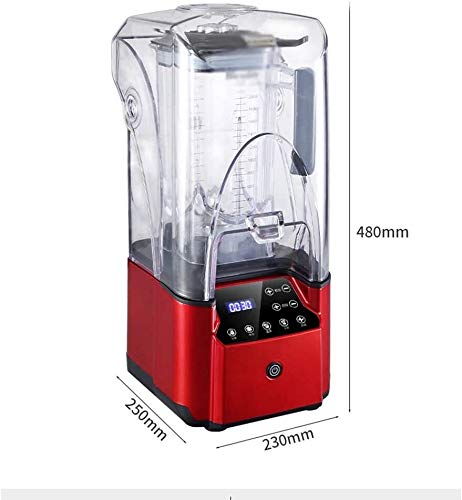 Lce blender cocktails Blender Smoothie Maker, 2000W Blender for Shakes and Smoothies with High-Speed Professional Stainless Countertop, Variable speeds Control, 6 Sharp Blade, 2L BPA Free Tritan Conta