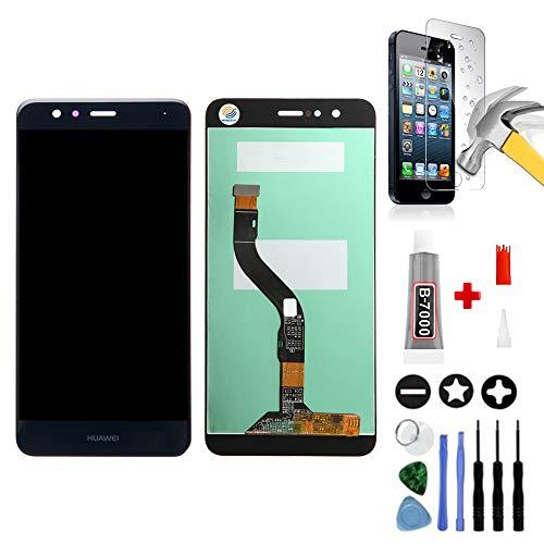 Mobilevie Vitre Tactile et Ecran LCD Original Prêt-À-Monter avec Outils pour Huawei P10 Lite, Bleu
