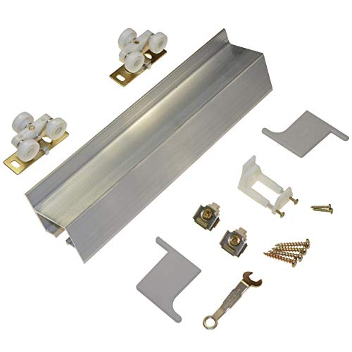 2610 Wall Mount Barn Door Type Sliding Door Hardware 72