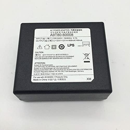 satukeji Piezas de Repuesto Accesorios para Impresora Adaptador de CA CC Compatible con HP A9T80-60008 32V / 12V 468Ma / 166Ma Compatible con HP6950 6960 6963 6964 6956