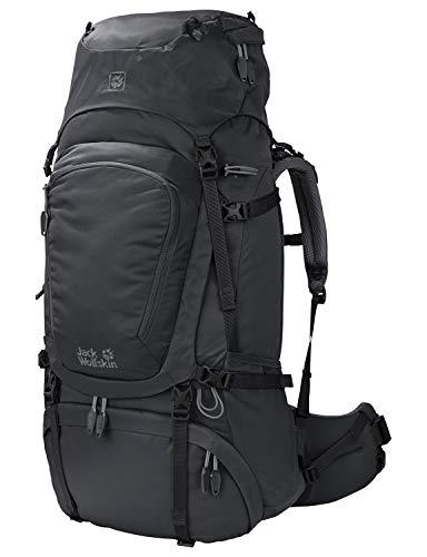 Jack Wolfskin Damen Denali 60 Wandern Outdoor Trekking Rucksack, Phantom, 67x34x17 cm