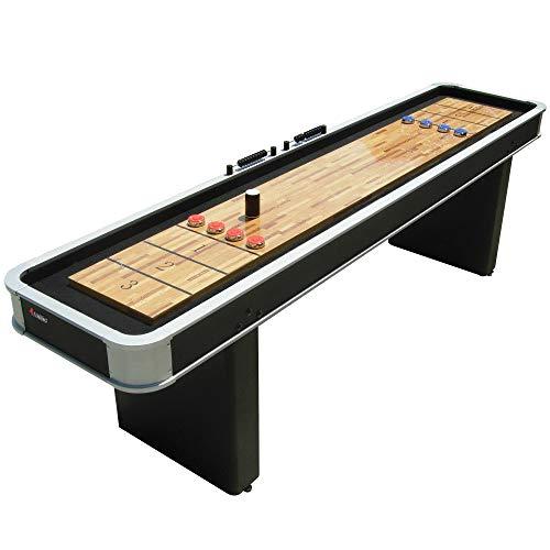 Atomic M01702AW 9' Platinum Shuffleboard Table