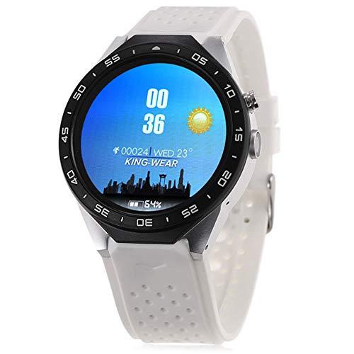 Monitoreo de la salud Ver video musical GPS Monitoreo de movimiento Análisis del sueño Ubicación del teléfono Bluetooth Llamada inteligente ECG Frecuencia cardíaca SMS SNS, blanco+plata