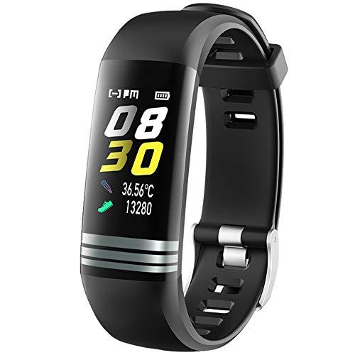 Hela Fitness Tracker G26 pantalla a color inteligente pulsera fitness reloj actividad impermeable reloj inteligente medición de la presión arterial pulsera