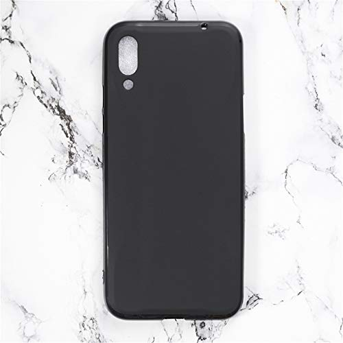 Capa para Xiaomi Black Shark 2, capa traseira de TPU macia resistente a arranhões à prova de choque de borracha de gel de silicone anti-impressões digitais Capa protetora de corpo inteiro para Xiaomi Black Shark 2 Pro (preta)