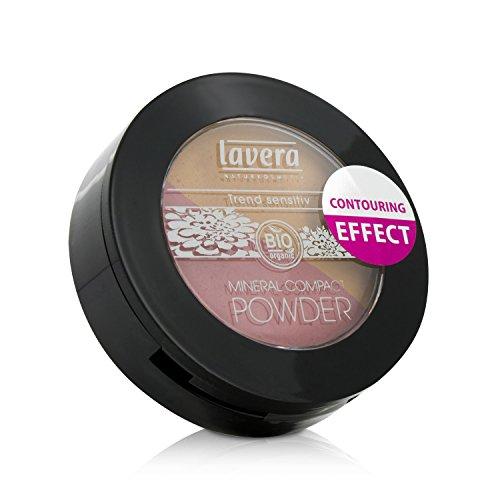Lavera Mineral Compact Powder Duo Honey und Rose 1, 1er Pack (1 Stück)