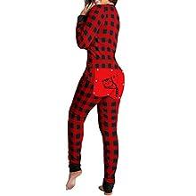 Pijamas De Mujer Sexy De Una Pieza, Pijamas De Mujer, Pijamas De Invierno para Invierno, Pijamas De AlgodóN para Mujer, Pijamas Casuales De Mujer, Medias De Manga Larga