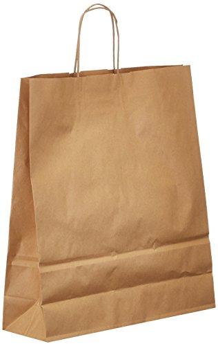 Rex Sadoch SDS36-AVN papieren tas met gedraaide greep, ivoorkleurig, 25 stuks