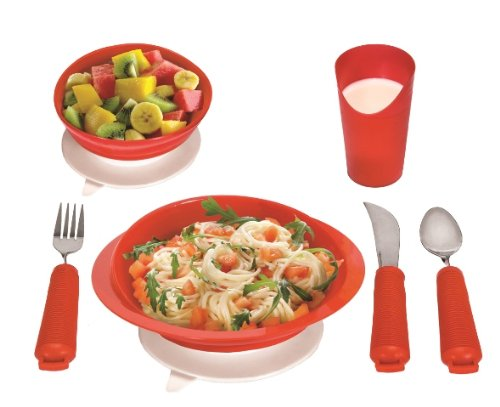 Essential Medical Supply Power of Red Complete Table Setting