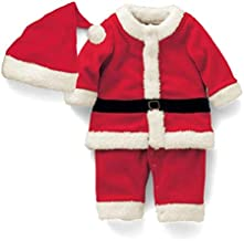 Kids Clothing Boy Santa Claus Costume + Hat Set, Height:140cm Boys Clothing