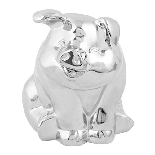 GG Grand General 48203 Chrome Plated Smiling Pig Hood Ornament