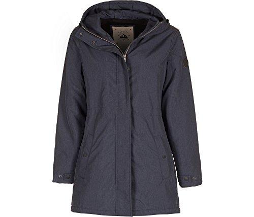 FORVERT Damen Leah Jacket, Navy Melange, L