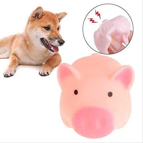 Spielzeug Hund Espielzeug Saugnapf Pet Toy Dog Produkt Gummi Hundespielzeug Mit Dornknochen Gummi Backenzähne Pet Bite Resistant Backenzahn Training Schleifen Zähne Zum Riechen 11 cm x 4 cm 1pc 5X3cm