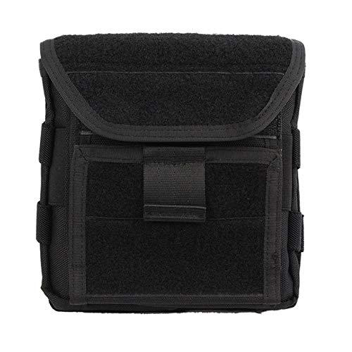 BAPDSB Tactical Admin Magazine Ammo Storage Pouch Pack de sécurité Carry Vest Accessory Kit Boucles Taille Sac Molle pour Mag Map Flaslights