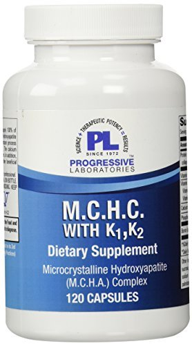 Progressive Labs MCHC with K1 and K2 Supplement, 120 Count by Progressive Labs